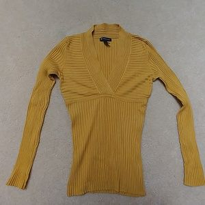 Inc Gold Sweater